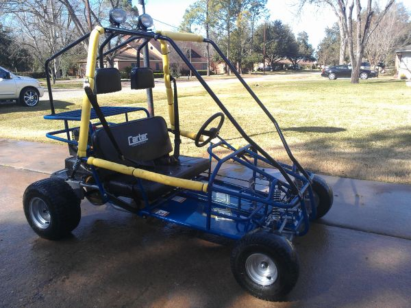 go cart (american built) 7hp - $800 (pearland)