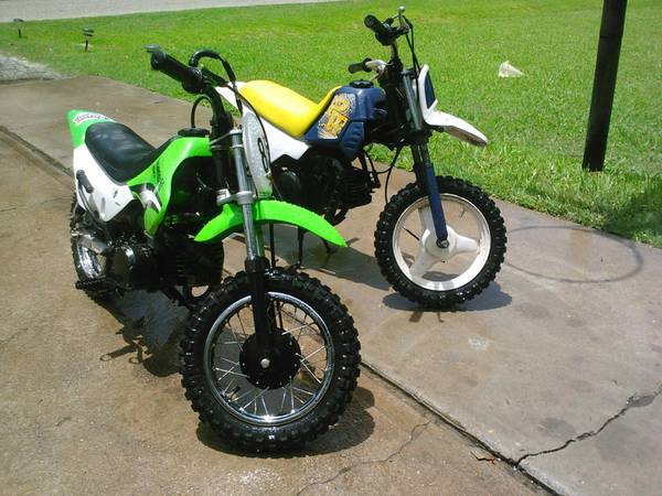 2 Dirtbikes 4 Sale or Trade for 150cc GoKart - $1000 (S E Houston)