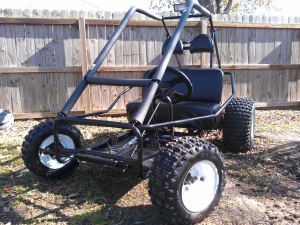 go cart (11hp briggs) electric start - $1100 (houston)