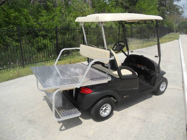 2010 Tan Black Club Car with Large rear seat New batteries (montgomery,lake conroe area,hwy.105 )