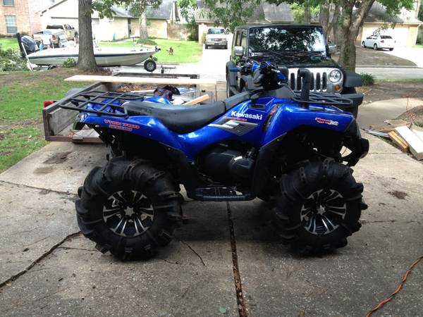 2006 Brute force 750 4x4 4 wheeler ATV - $5000 (Humble Tx)