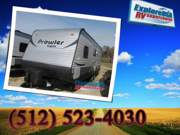 Travel Trailers  2014 Prowler 29 25 Lx Lynx Front Bedroom  Austin