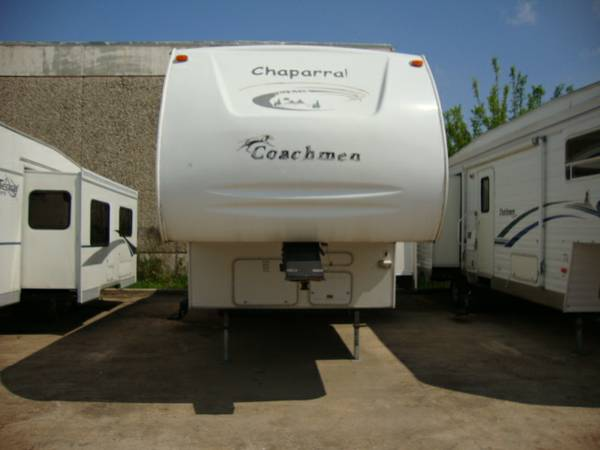 2003 CHAPARRAL   SUPER SLIDE   5FT WHEEL   3 BUNKS -   x0024 11500  TEXAS CAMPERS