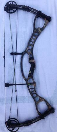 Hoyt CRX 32 Bow - Left Hand - Bone Collector Edition - $415 (Spring, Tx)