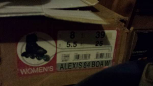 For sale K2 Womens Alexis Inline Skates (like new) - $180 (southeast houston)