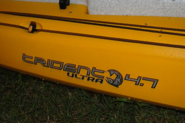 Ocean Kayak Trident Ultra 4.3 with upgrades and accessories - $1750 (Houston, TX - Clear Lake AreaWebster)