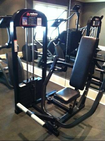 ELITE FX Fitness Equipment - Pro Maxima Selectorizer Seated ChestPress - $797 (West URice Village)
