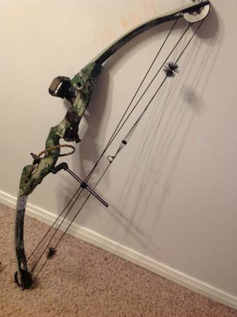 Reduced - Darton Apache Compound Bow 31.5 DL - $115 (Crosby)