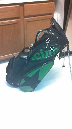 Callaway (Heineken) CarryStand Golf Bag - $80 (HWY 249 and Jones Rd.)