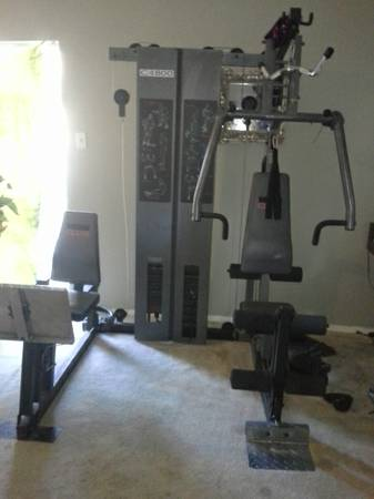Weider C4800 home gym - $250 (Spring)
