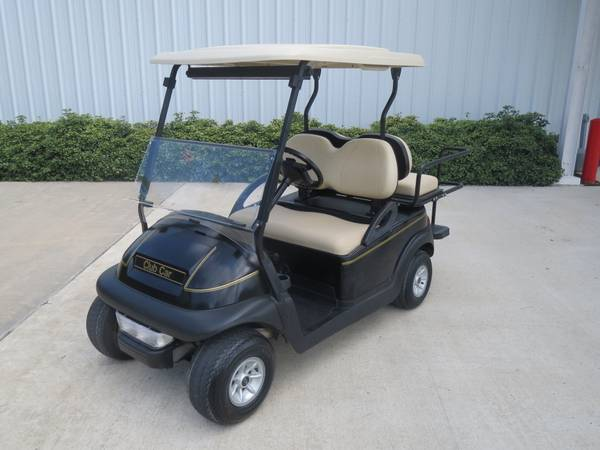 2010 Black Club Car with Rear seat Lights - $3250 (montgomery,lake conroe area,hwy.105)