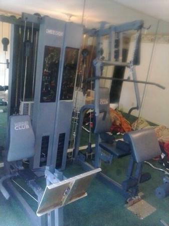 gym station weider c4800 free - $1 (northwest)