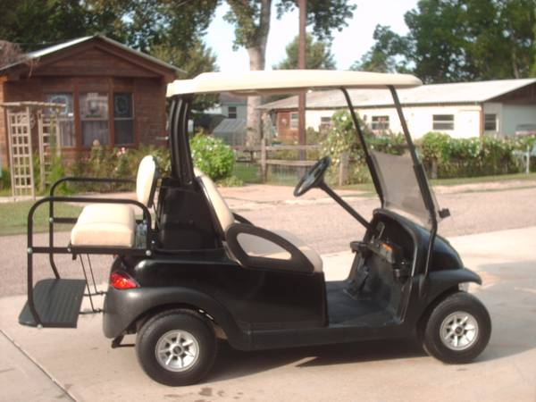 Black 2010 Club Car President Golf Cart, 122011 batteries, back seat - $2950 (Willis N Side of Lake Conroe)