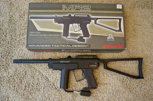 Kingman Spyder MR2 Tactical Paintball Gun - $90 (Katy, TX)