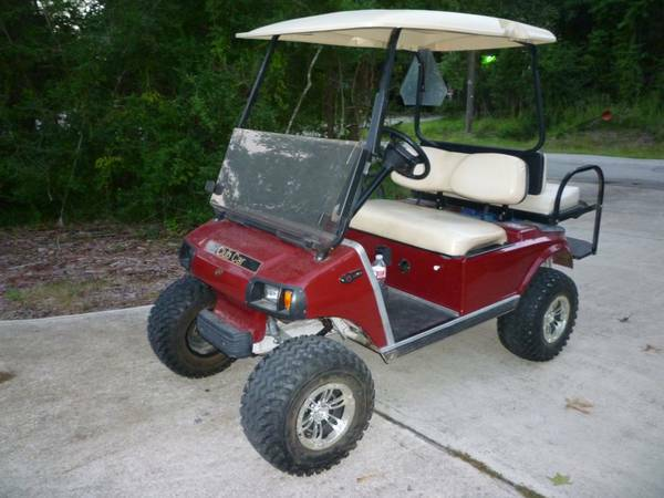 Golf Cart Lifted - $3350 (Houston, Conroe)