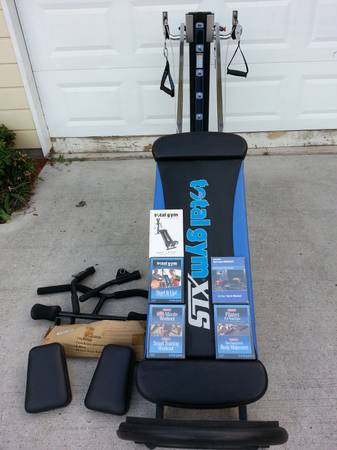 TOTAL GYM XLS AND ACCESSORIES - $450 (Houston)