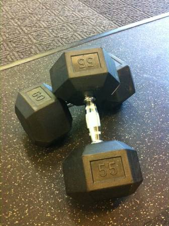 ELITE FX - Cap Barbell Rubber Hex Dumbell Set - $597 (Rice Village West U)