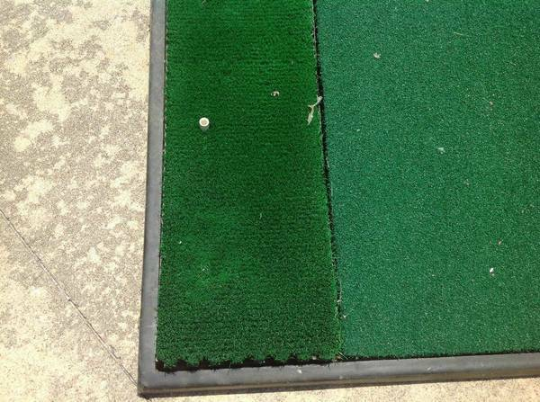 Fiberbuilt 4 x 5 Practice Golf Turf Mat with Rubber Foundation - $125 (WESTHEIMER SOUTH DAIRY ASHFORD)