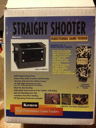 Kenco Directional Game Feeder - $75 (Montrose)