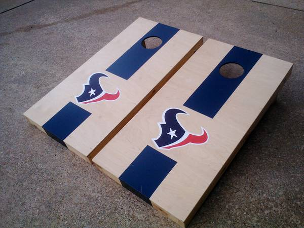 Tailgate Cornhole Game Boards - $1 (houston, webster, sugarland, pearland)