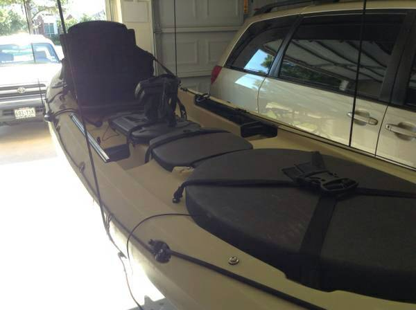 Ocean Kayak Trident 13 with Humminbird GPSFish-finder Combo - $1500 (Channelview, TX)