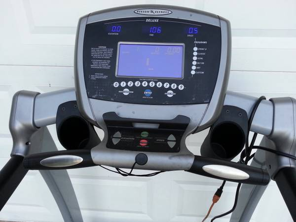 vision fitness treadmill t9250 manual