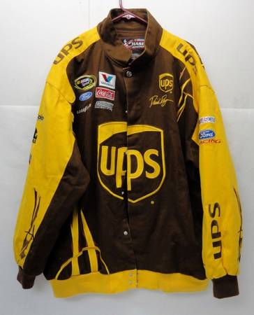 Chase Authentics NASCAR David Ragan UPS Racing Jacket - $15 (Alief)