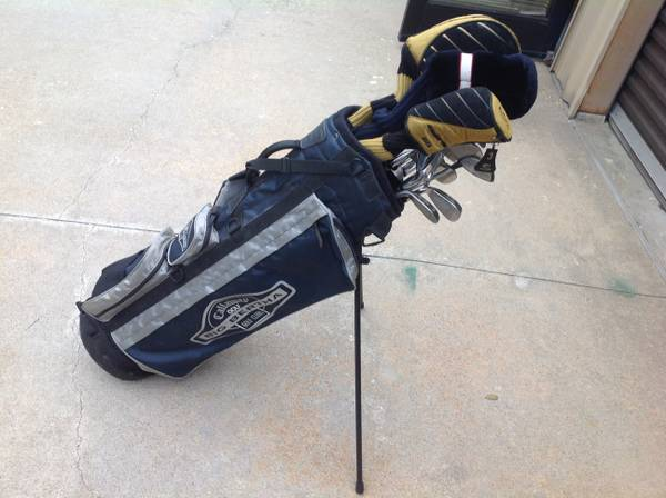 Like New King Cobra Golf Club Set Irons, Driver, Woods and Bag - $250 (Westheimer and Dairy Ashford)