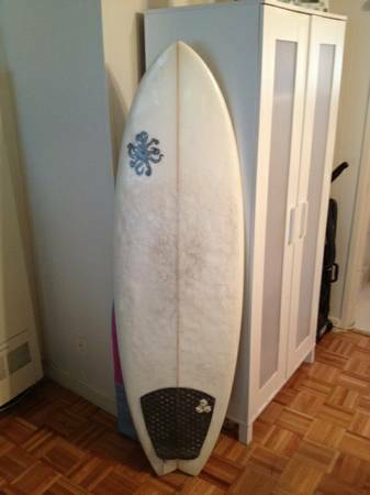 59 Merrick style Pod surfboard.  best shortboard for the gulf - $440 (SW Houston)