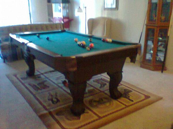 7 EASTON POOL TABLE - $250 (Houston)
