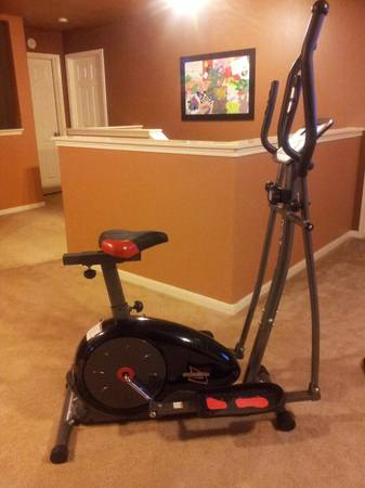 Body Ch Deluxe Stride Cycle Elliptical with Seat - $175 (Westpark toll 99 area)
