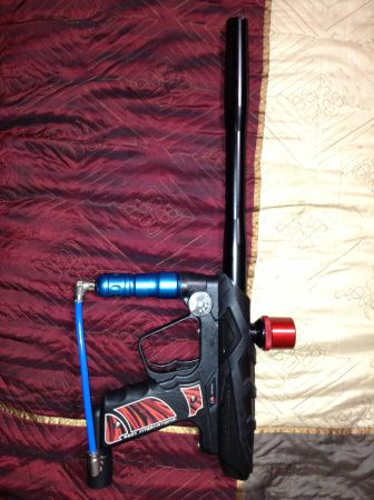 Upgrated Smart Parts Ion paintball gun - $60 (Katy Tx)