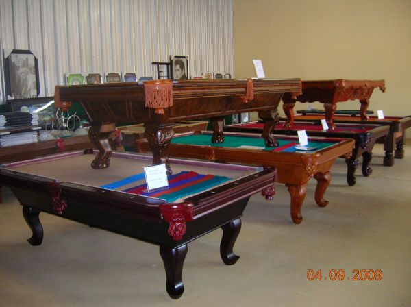 BRAND  NEW  POOL TABLE KING  NAPOLES  IS  A BEAUTY - $1650 (POOL TABLE KING  WAREHOUSE HOUSTON )