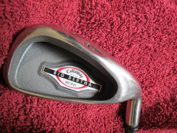 Callaway Big Bertha Irons 2002 4-10 plus PW - $225 (Houston)
