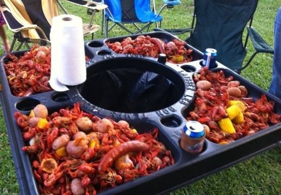 For Sale Crawfish Tables - $89 (Houston)