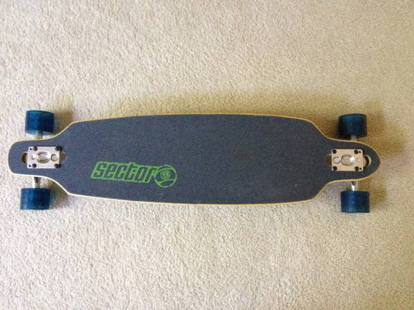 Sector 9 fractal 36 downhill carving longboard - $185 (Houston)