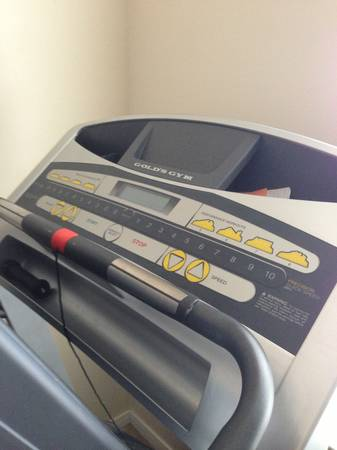 Golds Gym 480 Trainer Treadmill - $350 (Baytown )