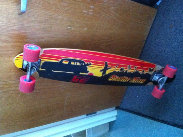 Sector 9 longboard - $120 (West U)