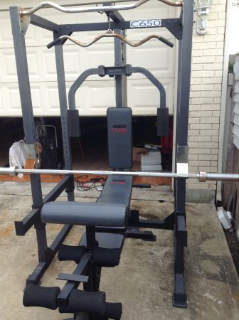 Weider Club C650 home gym - $350 (Dickinson TX)