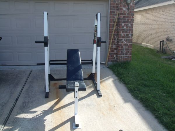 WEIDER 350 WEIGHT RACK wBENCH - $125 (SPRING)