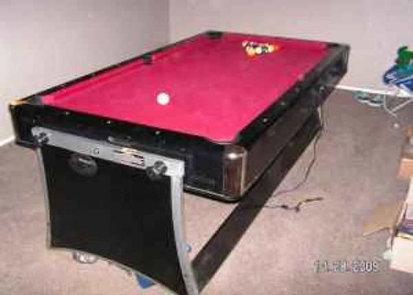 Pool Table Air Hockey Table Combo - $380 (Pasadena)