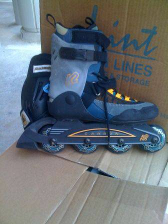 K2 Inline Skates  Knee and Elbow Pads - $30 (Pickens  Coppage, Near Memorial Park)