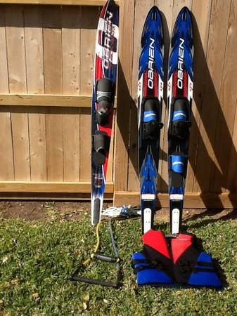 OBrien water skis and OBrien slalom ski - $125 (Sugarland, Tx)
