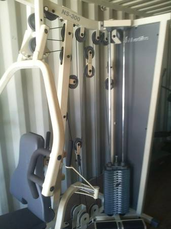 Nautilus NS-300 Home Gym Brand New Condition - $900 (34th St Aztec Storage Houston TX )
