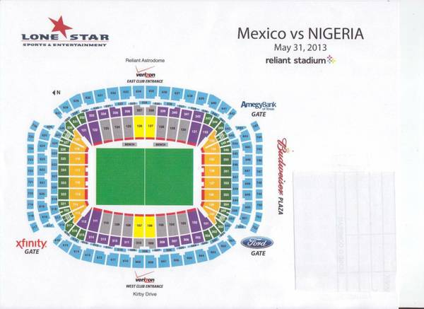 Mexico vs Nigeria Tickets boletos - $90 (1807 Bingle rd H T 77055)