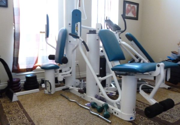 Vectra on-line 1800 Multi Station selectorized Home Gym - $1800 (Cypress)
