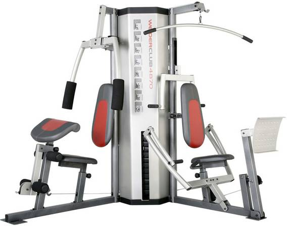 Weider Club 4870 Weight System - $500 (Houston)