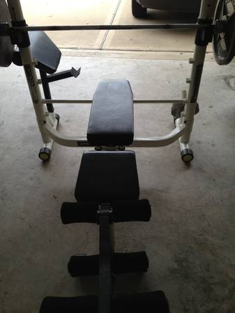 Impex Powerhouse Olympic Weight Bench Espotted