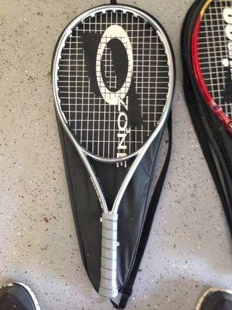 Two Prince tennis racquets - $30 (Crosby )