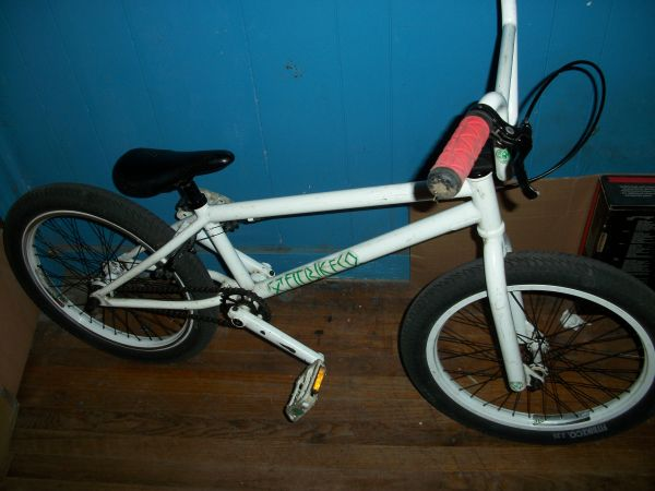 bmx fit bike  rollerblades aggressive skates  - $200